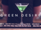 Green Desire Christmas Cocktail