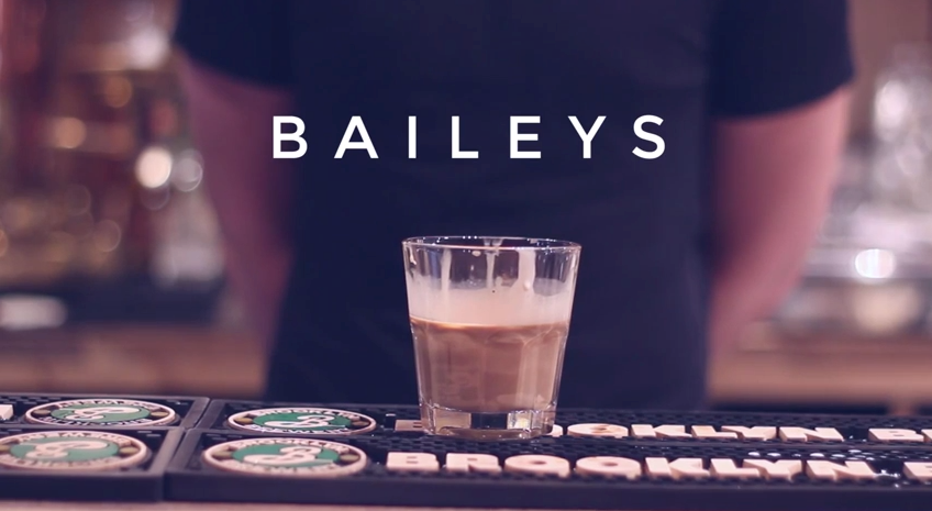 Baileys for the Black Forest Mocktail