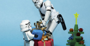 Star Wars Lego Toys Opening Christmas Presents