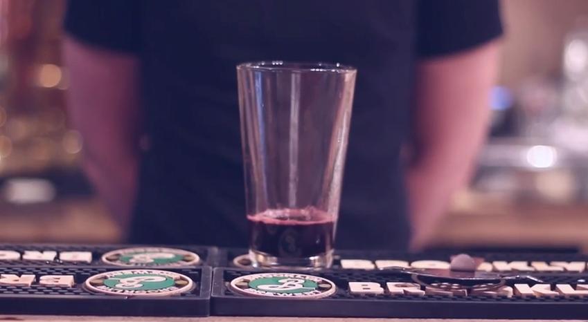 Liquid Jam for the black forest mocktail