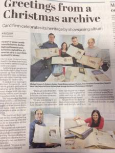 Christmas Connections were featured in the Leyland Guardian