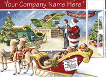 Your Company Name and Logo Christmas Cards