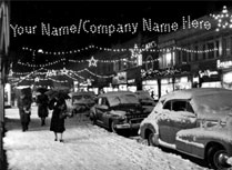 Your Name in Print Christmas Cards