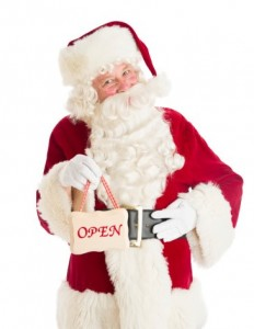 Santa Open for Business