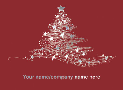 Starry Tree <br>Front Personalised
