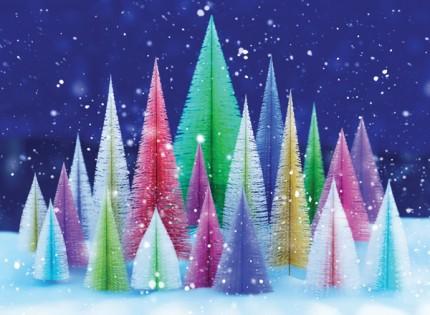 Christmas Tree Reflection