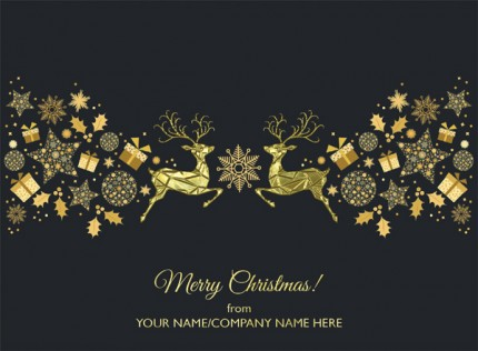 Golden Decoration - Front Personalised
