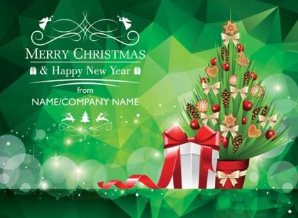 Christmas Tree Greeting