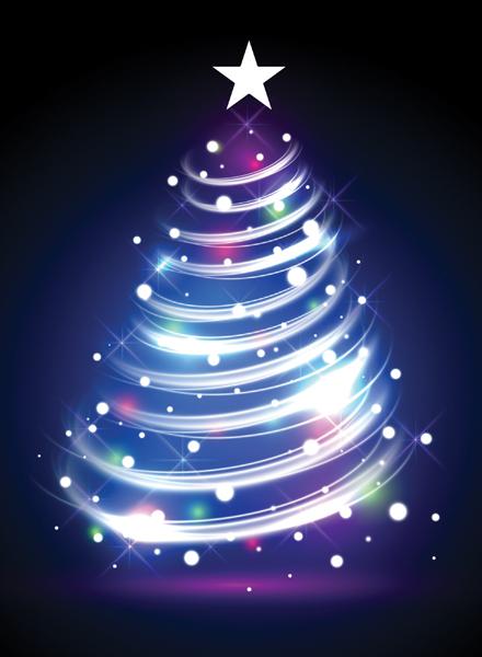 Christmas Glow Blue