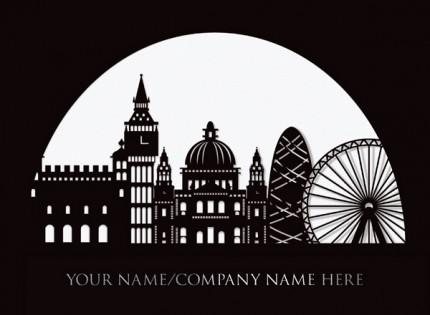 London Globe Laser Card