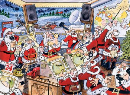 Christmas Control Room