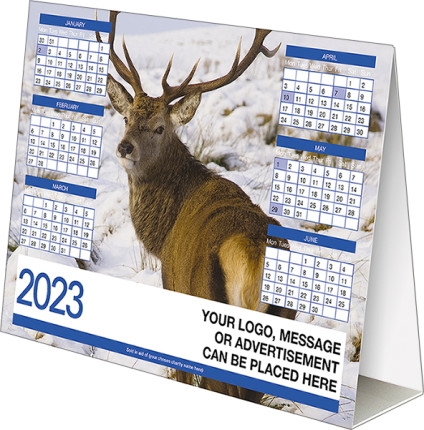 Own Photo<br>Folding Desk Calendar