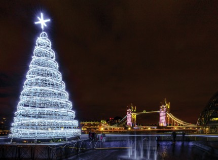 Tower Bridge at Christmas