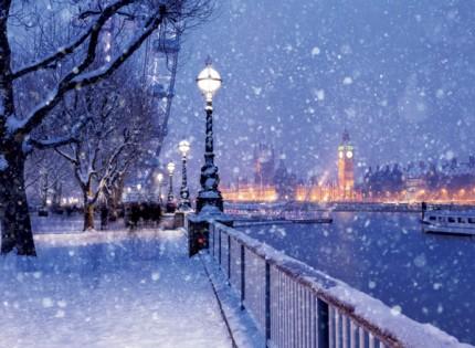 Snowy Jubilee Gardens